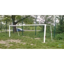 Bramka stalowa stała do piłki nożnej 5x2 m cynkowana i malowana