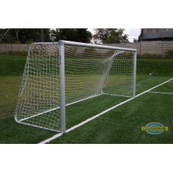 Bramka stacjonarna aluminiowa do piłki nożnej 5x2m