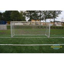 Bramka do piłki nożnej przenośna aluminiowa 7,32x2,44m