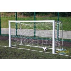 Bramka do piłki nożnej 3x1,55 m aluminiowa przenośna