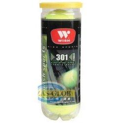 Piłka do tenisa ziemnego WISH 301 (3szt.)