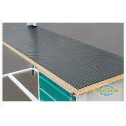 Nakładka gumowa na blat stołu warsztatowego 3-modułowego W-GB3