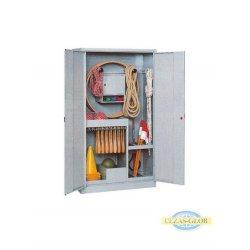 Szafa na sprzęt sportowy - SNS 1A - drzwi uchylne pełne