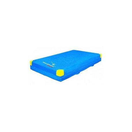 Materac gimnastyczny (200x120x20cm) z antypoślizgiem i uchwytem MA20-120-P/ANU-21