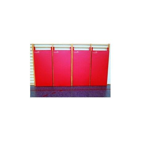 Materace osłonowe na drabinki gimnastyczne 164x85x6 cm