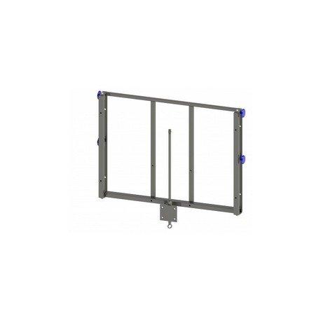 Regulacja wysokości tablicy 2,60-3,05m na stojak (malowana)