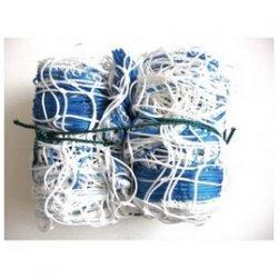 Siatka do piłki ręcznej 3x2 PE 4 mm 3x2x1,5 m biało-niebieska