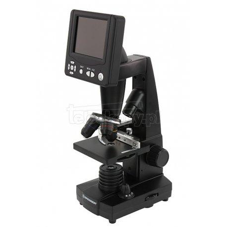 """Mikroskop Bresser Biolux LCD z wyświetlaczem 3,5"""" / 5 mln pikseli 50x - 2000x z walizką"""