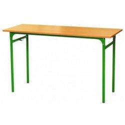 Stół szkolny KUBUŚ 2-os Nr 3,4 rura fi 32 mm