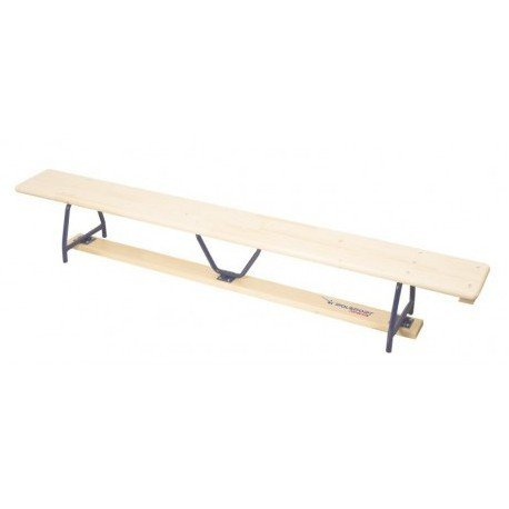 Ławka gimnastyczna 4 m, nogi metalowe