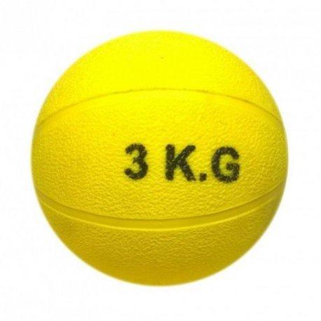 Piłka lekarska ze skóry naturalnej waga 5kg