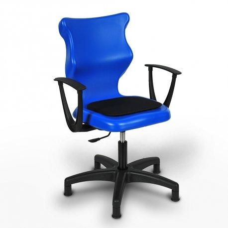Krzesło obrotowe Twist Soft – rozmiar 6 (159-207 cm) - kolor niebieski