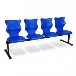 Bench 4 osobowy - rozmiar 6, niebieski