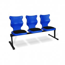 Bench Soft 3 osobowy - rozmiar 6, niebieski