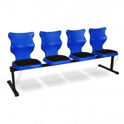 Bench Soft 4 osobowy - rozmiar 6, niebieski