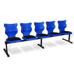 Bench Soft 5 osobowy - rozmiar 6, niebieski