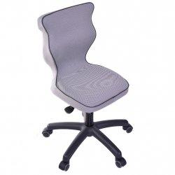 Krzesło obrotowe Luka - rozmiar 4 (133-159 cm) - lamówka czarna
