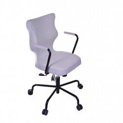 Krzesło obrotowe Lavre – rozmiar 6 (wzrost 159-207 cm), stelaż czarny, pistacjowe
