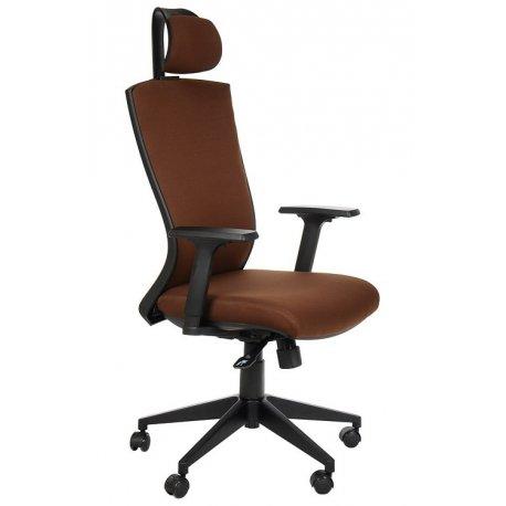 Krzesło obrotowe HG-0004F BRĄZ