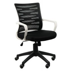 Krzesło obrotowe KB-2022 SZARY/CZARNY