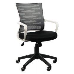 Krzesło obrotowe KB-2022 SZARY/SZARY