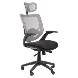 Krzesło obrotowe KB-8904 SZARY