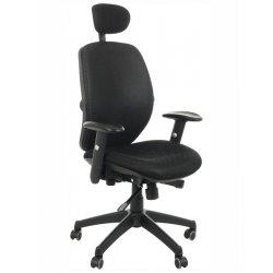 Krzesło obrotowe KB-912A CZARNY