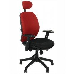 Krzesło obrotowe KB-912A CZERWONY