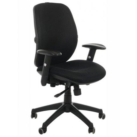 Krzesło obrotowe KB-912B CZARNY