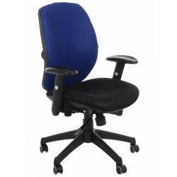 Krzesło obrotowe KB-912B NIEBIESKI
