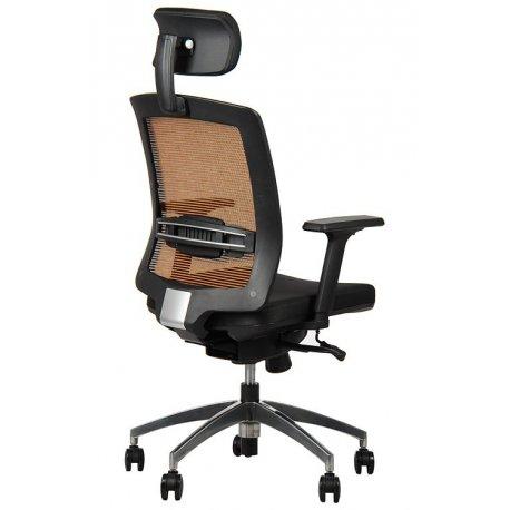 Krzesło obrotowe z wysuwem siedziska GN-301/A POMARAŃCZ