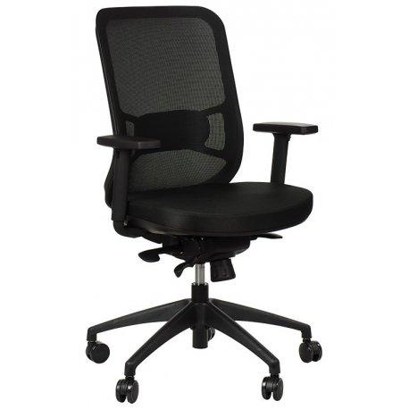 Krzesło obrotowe z wysuwem siedziska GN-310 CZARNY