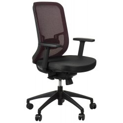 Krzesło obrotowe z wysuwem siedziska GN-310 BORDO