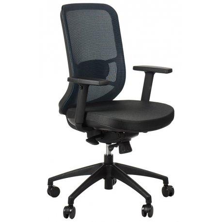 Krzesło obrotowe z wysuwem siedziska GN-310 NIEBIESKI