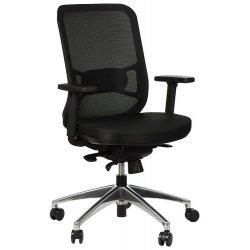 Krzesło obrotowe z wysuwem siedziska GN-310/A CZARNY