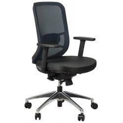 Krzesło obrotowe z wysuwem siedziska GN-310/A NIEBIESKI