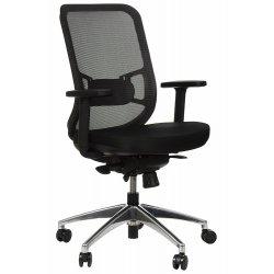 Krzesło obrotowe z wysuwem siedziska GN-310/A SZARY
