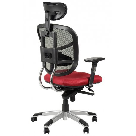 Krzesło obrotowe z wysuwem siedzenia HN-5018 BORDO