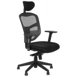 Krzesło obrotowe z wysuwem siedziska HN-5038 SZARY