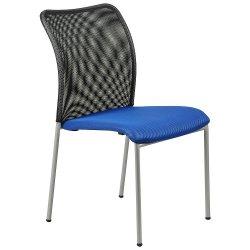 Krzesło stacjonarne HN-7502/A NIEBIESKI-CZARNY