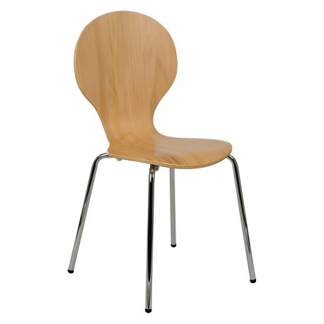 Krzesło stacjonarne sklejkowe TDC-122 BUK