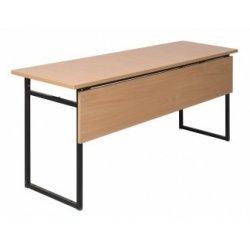 Stół szkolny 3-osobowy do pracowni z blatem HPL 28mm 180x50/60 z blendą