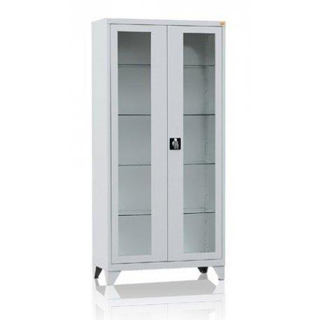 Szafa na szkło laboratoryjne 2-drzwiowa przeszklone drzwi MD/2