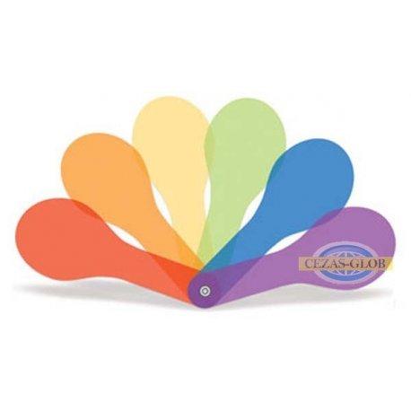 Kolorowe filtry do mieszania barw