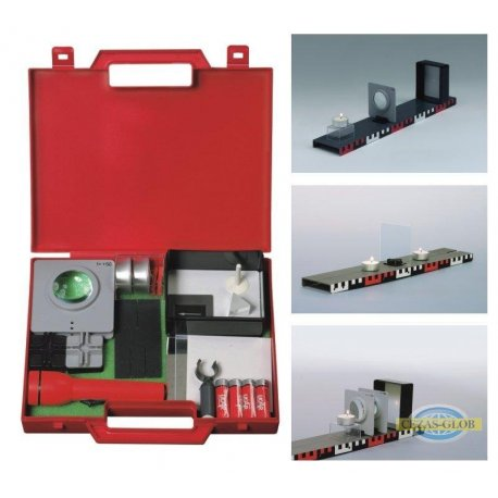 Podstawy optyki - mini zestaw walizkowy optyka 16110