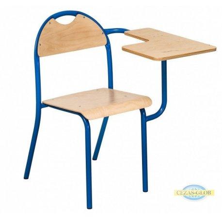 Krzesło LOLEK z pulpitem uchylnym