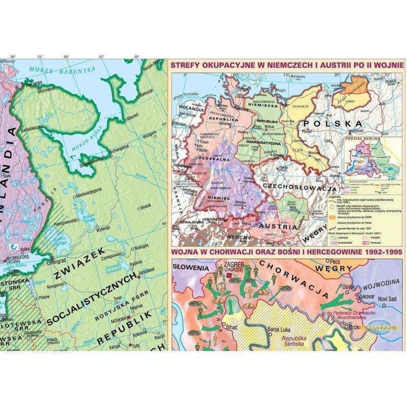Mapa Europa Po 1945 R Cezas Glob