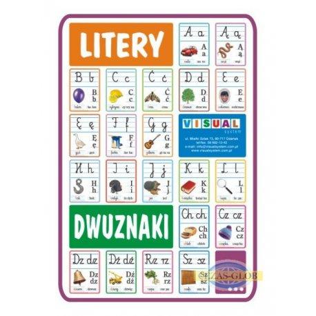 Plansza Komplet liter do nauki pisania i czytania