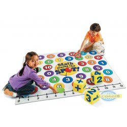 Gra ruchowa - kropki matematyczne