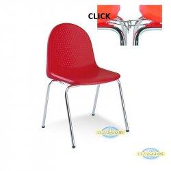 Krzesło AMIGO CLICK CHROME